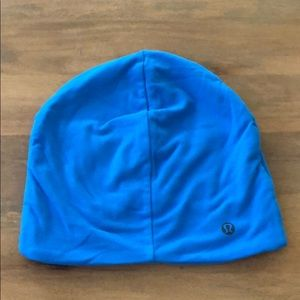 Lulu lemon Blue Workout Hat